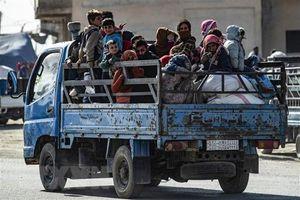 LHQ hỗ trợ người dân vùng chiến sự ở Đông Bắc Syria