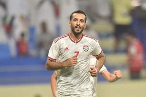 UAE mất 'sát thủ' số 1 trước trận gặp tuyển Việt Nam ở Mỹ Đình