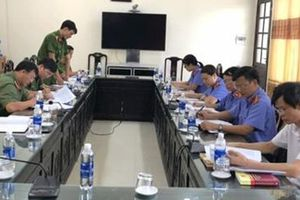Liên ngành tư pháp Thái Thụy họp bàn tăng cường chọn án trọng điểm năm 2019