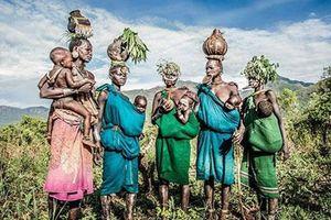 Những hình ảnh độc, lạ về các bộ lạc ở Ethiopia