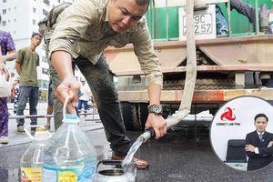 Luật sư Nguyễn Ngọc Hùng: 'Người dân có quyền được biết về chất lượng nước đang sử dụng'