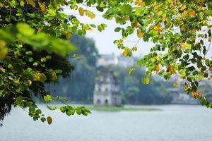Đẹp nao lòng mùa thu Hà Nội