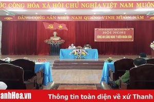 Huyện Vĩnh Lộc: Hội nghị Công an lắng nghe ý kiến nhân dân
