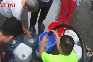 Ác mộng sống không nước của nhiều người dân Hà Nội
