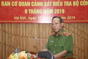 Cơ quan CSĐT Bộ Công an giao ban 9 tháng đầu năm