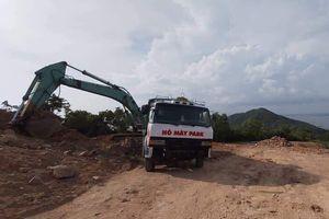 Chủ đầu tư dự án lấn biển ở Bà Rịa Vũng Tàu còn san gạt núi trái phép