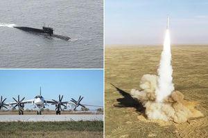 Tổng thống Putin giám sát vụ thử nghiệm bộ 3 hạt nhân của Nga