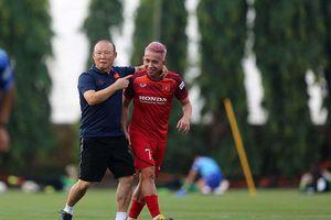 Cuộc chơi khó lường của đội tuyển Việt Nam