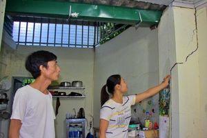 Xác định nguyên nhân lún, nứt nhà cạnh công trình trạm bơm nước TP Hà Giang