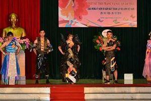 Viện Thiết kế (Bộ Quốc phòng) tổ chức Hội thi 'Thiết kế thời trang'
