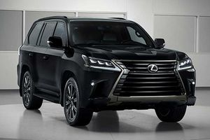 Lexus bất ngờ đăng ký bản quyền LX600 tại Mỹ