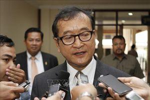 Tòa án Campuchia tuyên án phạt tù thủ lĩnh đối lập lưu vong