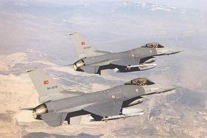 Sự thực tiêm kích F-16 Thổ Nhĩ Kỳ bị người Kurd bắn rơi
