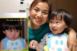 Cậu bé lai Việt - Nhật và câu nói 'Sa chào cô chú đi con!' bỗng trở thành hiện tượng khắp mạng xã hội