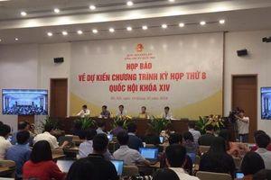 Kỳ họp thứ 8, Quốc hội khóa XIV: Thông qua 13 dự án luật