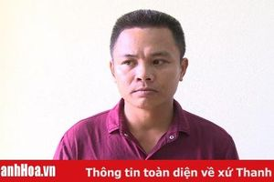 Công an huyện Triệu Sơn: Bắt đối tượng trộm cắp chuyên nghiệp