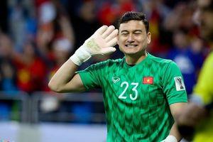 Thủ thành Đặng Văn Lâm nhận niềm vui mới tại vòng loại World Cup 2022