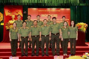 Quán triệt và tập huấn công tác tổ chức Đại hội Đảng các cấp trong CAND