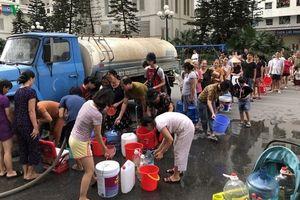 Nguồn nước cấp lại nhưng người dân chưa nên dùng để ăn uống