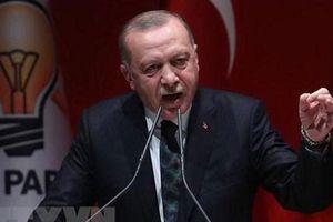 Thổ Nhĩ Kỳ 'dọa' sẽ tiếp tục chiến dịch tại Syria