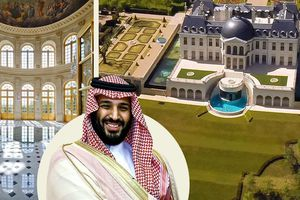 Cận cảnh siêu lâu đài dát vàng của Thái tử Ả-rập
