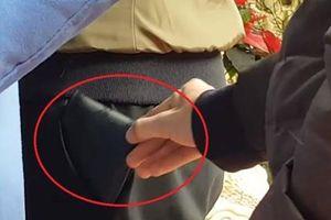 TP.HCM lắp camera chống móc túi trước trạm xe buýt Suối Tiên