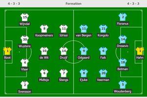 Heerenveen thắng đậm đội cầm hòa Man Utd