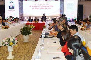 Dấu ấn nhà viết kịch Nguyễn Trung Phong với kịch hát Ví, Giặm