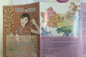 Dùng ấn phẩm có 'đường lưỡi bò', Saigontourist bị phạt 50 triệu
