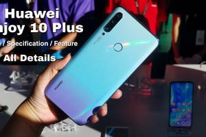 Huawei Enjoy 10 ra mắt: Màn hình đục lỗ, Kirin 710F, giá từ 169 USD