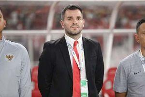 Hiệp hội Bóng đá Indonesia chưa sa thải ông McMenemy vì tiếc tiền