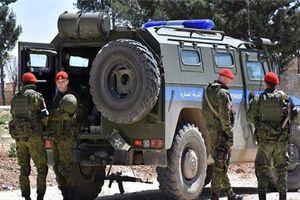 Xe tuần tra của Nga 'nát bươm' vì trúng bãi mìn ở Syria