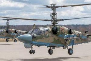 Không quân Nga nhận thêm số lượng lớn trực thăng tấn công Ka-52 cực mạnh