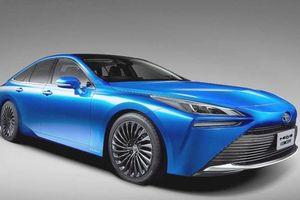 Toyota phát triển xe dùng pin nhiên liệu hydro song song với xe điện
