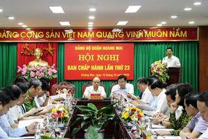 Quận Hoàng Mai: 11 nhóm nhiệm vụ, giải pháp cho 3 tháng cuối năm