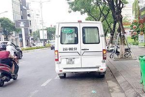 Xe trá hình vô tư chạy, phá tuyến cố định ở Quảng Nam