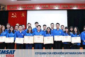 Đoàn thanh niên Trường Đại học Kiểm sát Hà Nội tham dự Hội nghị tập huấn công tác đoàn