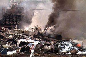 Chiếc máy bay rơi giữa lòng thành phố khi vừa cất cánh năm 1997