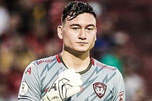 Văn Lâm thủng lưới 2 bàn khi trở lại Thai League