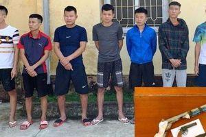 Vụ 3 người bị bắn trọng thương ở Thanh Hóa: Tạm giữ hình sự 7 thanh niên