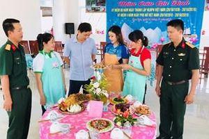 Công ty 716 tổ chức Hội thi 'Mâm cơm gia đình'