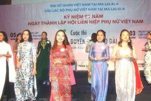 'Duyên dáng áo dài' chào mừng Ngày Phụ nữ Việt Nam 20/10 tại Malaysia