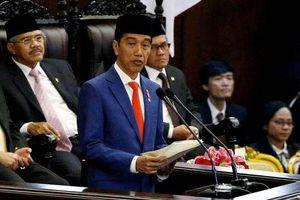 Tổng thống Indonesia tuyên thệ nhậm chức nhiệm kỳ thứ hai