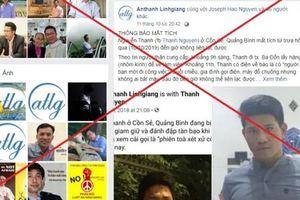 Sự thật 'vụ Nguyễn Văn Thanh' bị xuyên tạc, công an Quảng Bình 'lên tiếng'