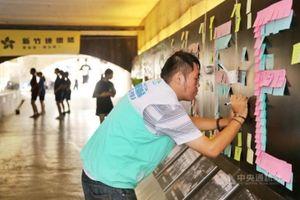 Đài Loan dọa trừng phạt sinh viên Trung Quốc có hành vi phá hoại