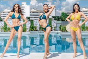 Ảnh bikini của Kiều Loan và thí sinh Hoa hậu Hòa bình bị photoshop quá đà: Body tưởng múi mà trơ xương, tay chân méo mó