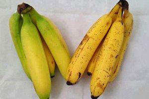 Người bán hoa quả không bao giờ tiết lộ: Cách lướt qua biết ngay chuối chín tự nhiên hay ngâm hóa chất