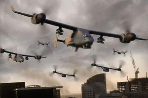 Mỹ tiết lộ UCAV có thể cất cánh từ chiến đấu cơ