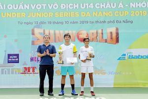 Kết thúc giải quần vợt U14 châu Á nhóm A năm 2019