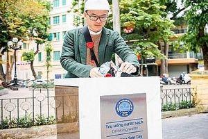 Hà Nội triển khai lắp đặt nhà vệ sinh công cộng và cây lọc nước uống trực tiếp